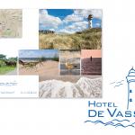 Grafisch ontwerp hotel de vassy brochure