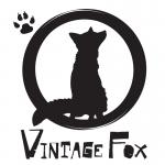 Logo ontwerp vintage fox