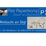 Grafisch ontwerp banner piet peperkamp