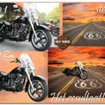 Harley en Route 66