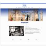Piet Peperkamp webdesign 2016