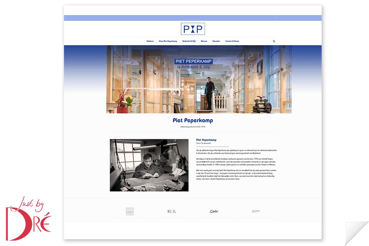 Website Piet Peperkamp