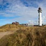 Panorama vuurtoren Egmond aan Zee