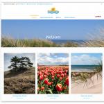 Zomerhuisje aan Zee - webdesign 2018