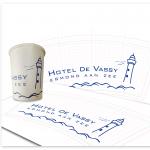 Hotel de Vassy bekerontwerp