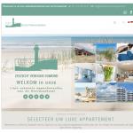 ZeezichtVerhuurEgmond.nl webdesign 2020